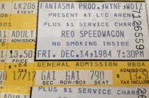 12-14-1984. Lakeland Civic Center again. $13.50. Prices going up!