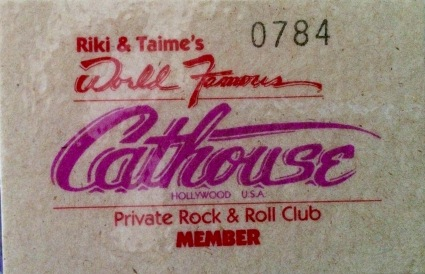 Cathouse Membership Card Front