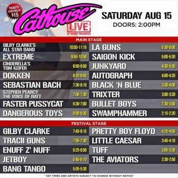 Cathouse Live original line-up