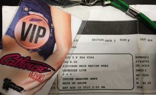Cathouse Live tix and pass