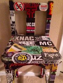 sticker chair