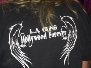 LA Guns t-shirt