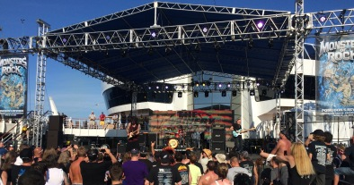 The Winery Dogs MORCruise 2015 Pool