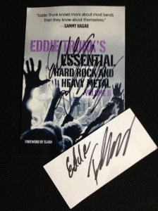 2014 MOR Cruise Eddie Trunk autograph