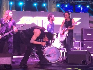 Extreme on pool stage - MOR Cruise 2015
