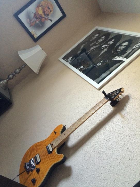 Grant's guitar