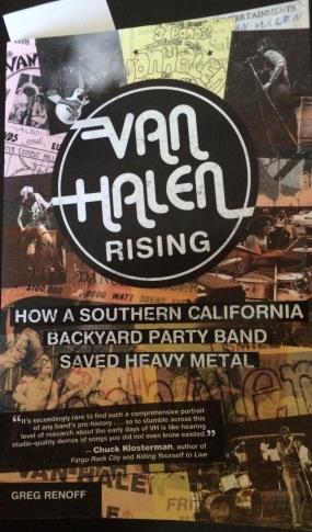 Van Halen Rising Book