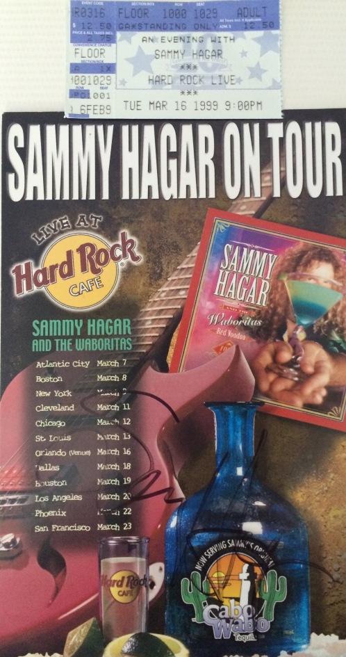 Sammy stub autograph 3-16-1999 Orlando