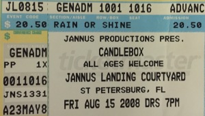 Candlebox Jannus 8-15-2008