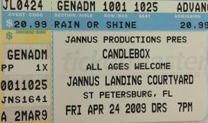 Candlebox Jannus 4-24-2009