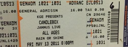 Candlebox Jannus 5-13-2011