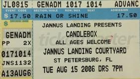 Candlebox Jannus 8-15-2006