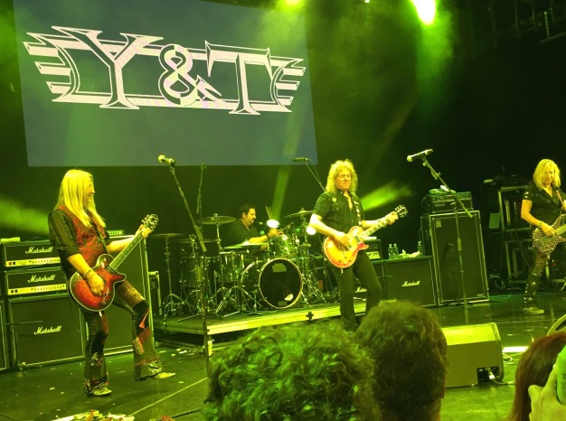 Y&T Stardust Theater 2016 MORC