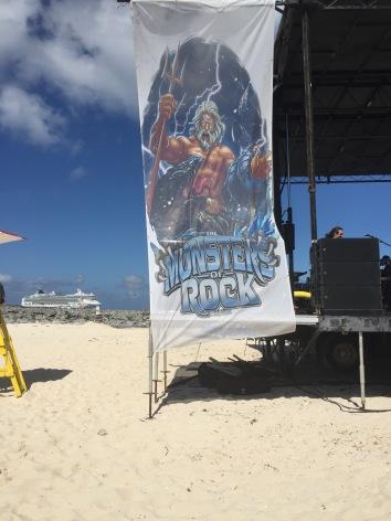Beach Stage w Ship 2016 MORC