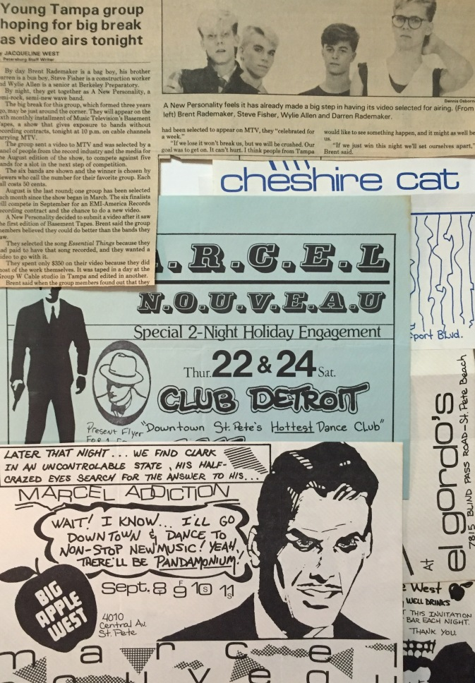1984 New Wave Flyers