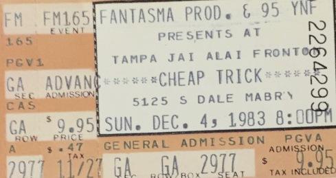 Cheap Trick 12-4-1983