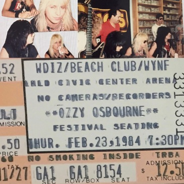 1984 Motley Crue Peaches