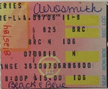 Aerosmith & Black n Blue at the Greek Theater