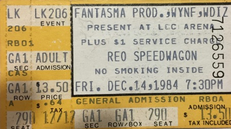 REO Speedwagon with Zebra 12-14-1984