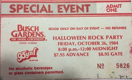 Busch Gardens 10-26-1984