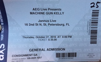 Machine Gun Kelly Jannus 10-28-2016