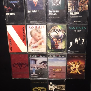 Van Halen Cassettes2
