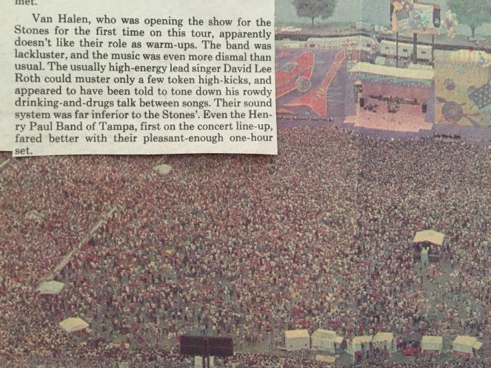 1981 Stones Review