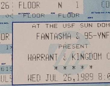 Warrant Kingdom Come 1989