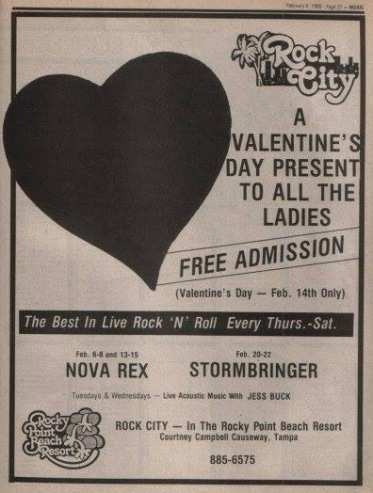 1986 Nova Rex Ad