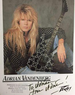Adrian V autograph